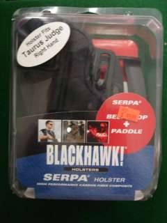 Blackhawk Serpa Paddle Holster Right Hand Taurus Judge