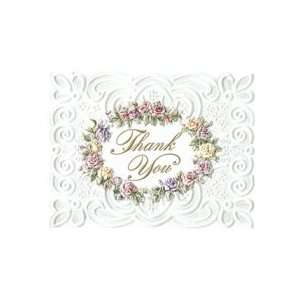 Carol Wilson Roses Boxed Thank You Cards 8 Ct. Health
