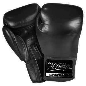 Black Triple Threat Mexican Style Sparring Boxing Gloves (Size16oz