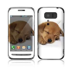Japan Exclusive Right) Decal Skin   Animal Sleeping Puppy Everything