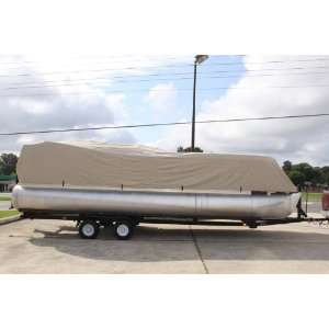 ULTRA PONTOON BOAT COVER, BEST AVAILABLE, TRI PURPOSE, FOR STORAGE