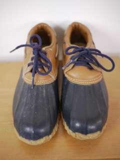 Vtg 80s BASS Duck Rain Snow Boots SHOES USA 2 Womens