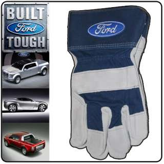 NEW FORD MOTOR SPORTS RACING CAR LEATHER BRAHMA GLOVES