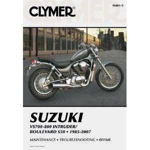 Clymer Suzuki Twins VS700 800 Intruder/Boulevard S50