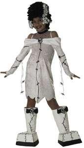 Bride Frankenstein Costume Girls Halloween Costumes M