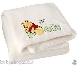 the Pooh Baby Blanket Boys Girls Nursery Toddler Super Soft