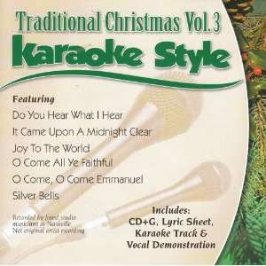 Karaoke Style Traditional Christmas, Vol. 3 Various Artists Music