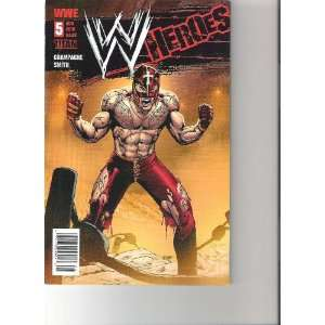 WWE Heroes Comic Ray Mysterio Cover (August 2010 Number 5): Books