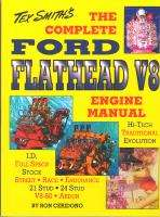 Flathead Ford 255, 239, 221, 136 Engine Book   Ron Ceridono