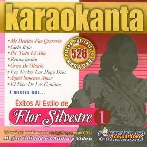 Karaokanta KAR 4526   Al Estilo de Flor Silvestre Vol. 1