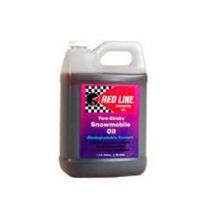 Red Line Oil 41005 2 Strk Smowmobile Oil  Gal: Automotive