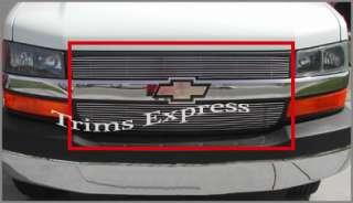 2003 2008 Chevy Express Van Billet Grille Upper 2007