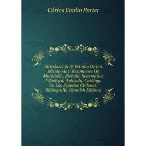 . Bibliografía (Spanish Edition): Cárlos Emilio Porter: Books