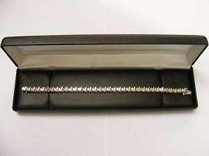 14K Yellow Gold Diamond Tennis Bracelet 4.50 Carats