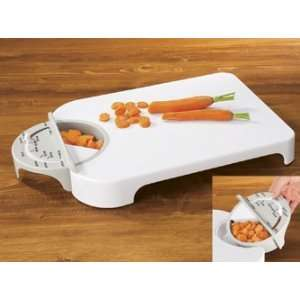 Adjust A Measure Cutting Board Kitchen & Dining