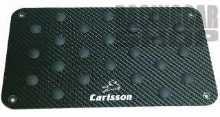 BENZ CARLSSON FULL REAL CARBON FIBER FLOOR MAT PEDAL FIT ALL MOEDL