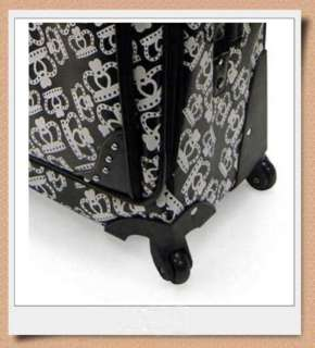 KATHY VAN ZEELAND Crown Pebble 2pc Carry On Luggage Set