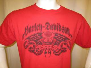 HARLEY DAVIDSON Motorcycle t shirt size Large CHINO CALIFORNIA