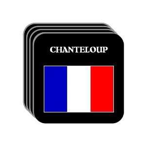 France   CHANTELOUP Set of 4 Mini Mousepad Coasters