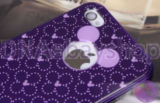 Disney Mickey Mouse Back Cover Case for iPhone 4 4G 4S AT&T(9 styles