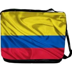 Rikki KnightTM Colombia Flag Messenger Bag   Book Bag   Unisex   Ideal