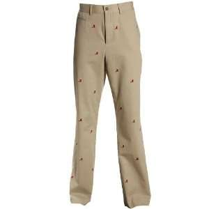 NCAA Alabama Crimson Tide Khaki Critter Pants  Sports