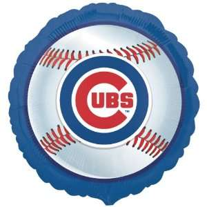 Lets Party By Chicago Cubs Baseball Foil Balloon