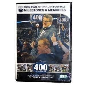 Penn State  2010 Milestones & Memories DVD Sports