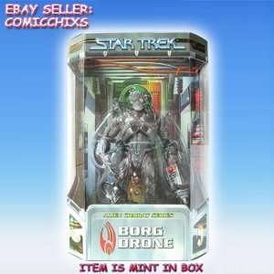 Star Trek Alien Combat Series 9 BORG DRONE Action Figure