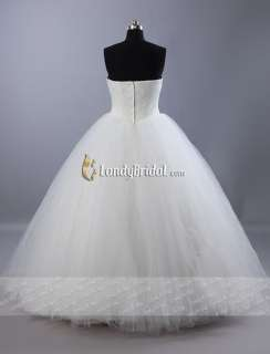princess Wedding Dress Bridal Gown Size IN STOCK Hot Sale♥