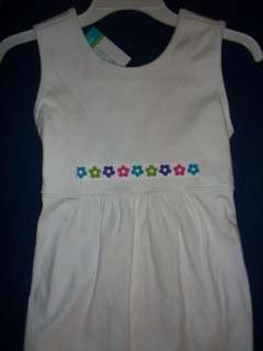 Girls Chez Ami White Ribbon Sun Dress Cover UP 16 NWT