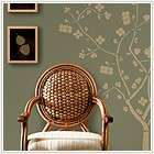New Gold CHERRY BLOSSOM TREE WALL DECALS Deco Room Stickers Modern