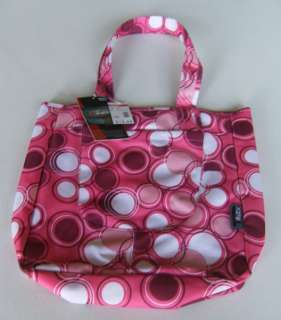 Pink With Circles Classic Tote Bag Handbag Purse Diaper Carry All New
