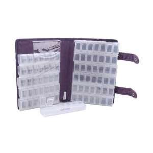 Craft Mates Ezy Snappin Petite Double Organizer Purple