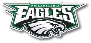 Philadelphia Eagles Vinyl Die cut Decal / Sticker ** 3 Sizes **