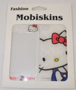Hello Kitty Design Skin Sticker Protector For iPhone 4 4G (white