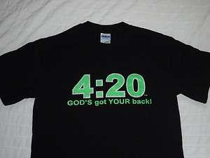 Jesus 420 Gutsy Christian T Shirt Mens Womens Dog Pet 420 Religious