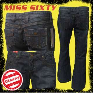 MISS SIXTY 60 Ex Love JK0SU8 Womens Boot Jeans SEE ME