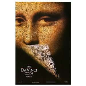 Da Vinci Code Original Movie Poster, 26.75 x 39.75 (2006)