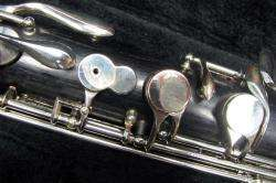 1963 Noblet Paris Bass Clarinet w/ Bundy 3 Mouthpiece & Case ~ Made In