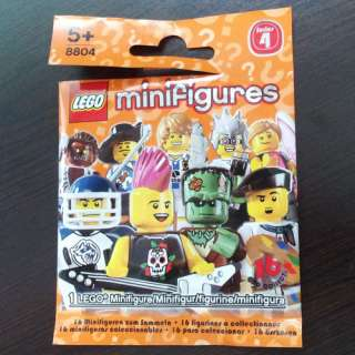 8804 Lego Minifigures Series 4 City Figures Musketeer