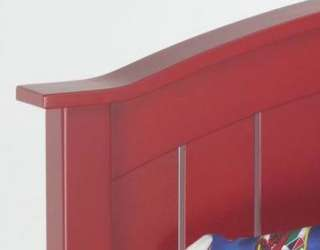 Wood Frame Red FULL / QUEEN Size HEADBOARD