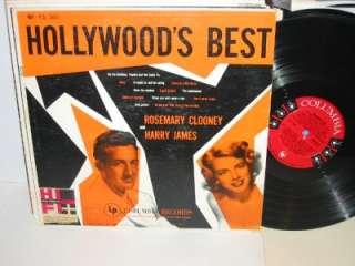 ROSEMARY CLOONEY HARRY JAMES Hollywoods Best LP 6 EYE