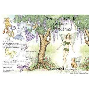 The Fairy Bella & Her Kitty Paper Doll Coloring Book