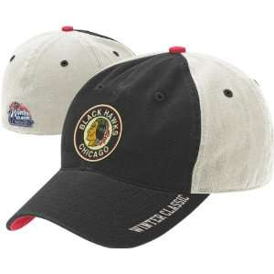 Chicago Blackhawks NHL 2009 Winter Classic Slouch Flex Team Cap