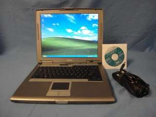 Dell D510 Laptop Pentium M 1.5GHz 512MB RAM 30GB CDRW/DVDROM WiFi