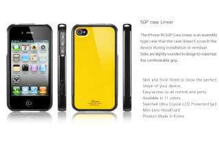 Brand Korea SGP Apple iPhone 4S 4 Case Linear Color Series Cover