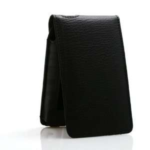 Black Leather Cover Case for Apple iPod Classic