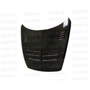 03 08 Mazda RX8 SEIBON Carbon Fiber Hood   TSII Style: Automotive