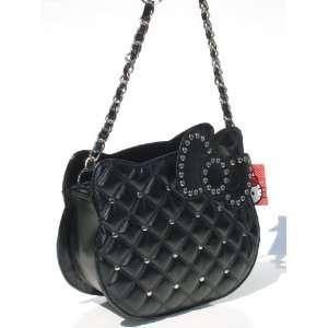 Sanrio Hello Kitty Black Quilted Purse Handbag Toys